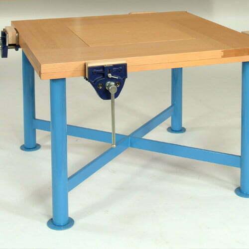 Craftwork 2000 Four Pupil Workbench Height Adjustable