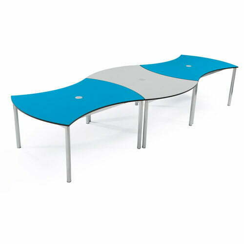 Double Curved Table 2