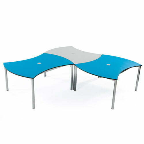 Double Curved Table 4