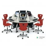 Icon Full Workstation Red