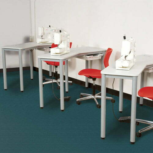 Sewing table installation