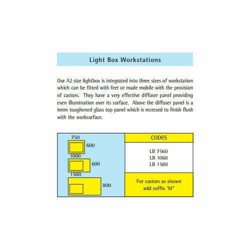 Light Box Workstations