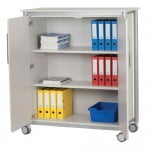 Shelf Unit With Doors